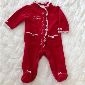 My First Christmas Footies 🎄